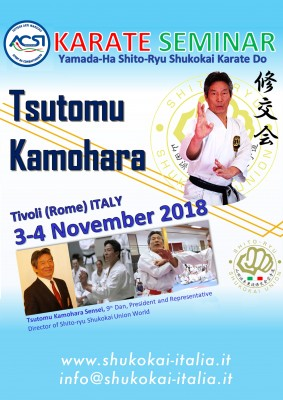 Stage di Karate con Tsutomu Kamohara 9th Dan