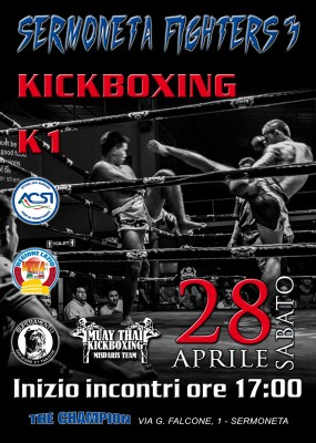 SERMONETA FIGHTERS 3  - Kick Boxing - K1